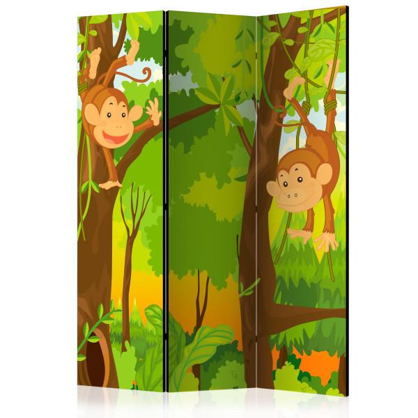Paraván - Jungle - Monkeys [Room Dividers]
